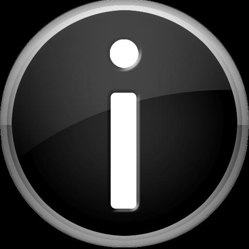 Transparent Info Icon