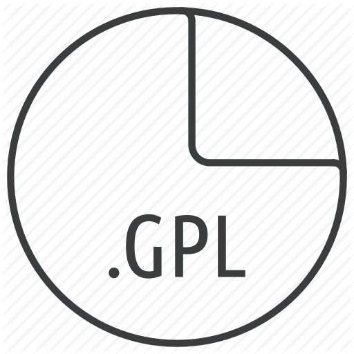 Extension, File, Format, Gimp, Gpl, Inkscape, Palette Icon
