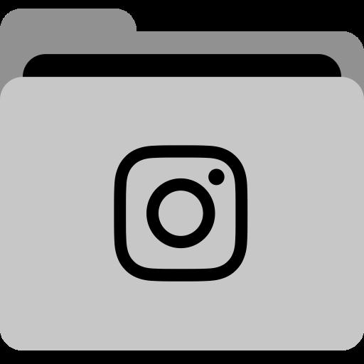 Folder, App, Storage, Insta, Social, Instagram, Collection Icon