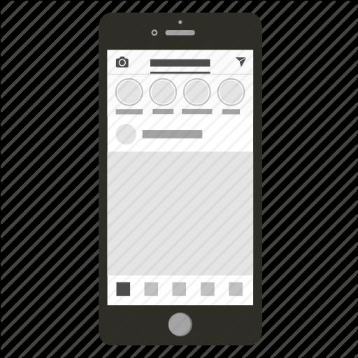 Instagram, Instagram Logo, Iphone, Mobile App, Social Network Icon