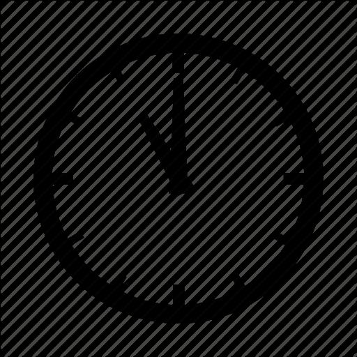 Clock, Eleven, O'clock Icon