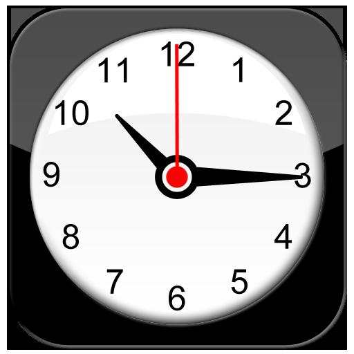Clock Icon Style Iconset Iynque Logo Image