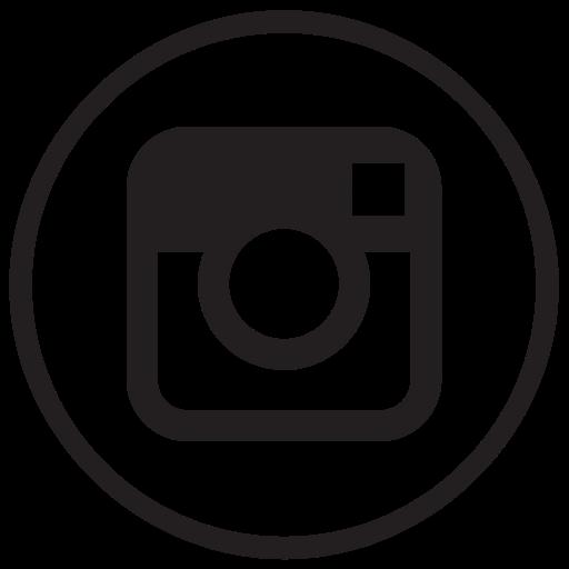 Instagram, Liner, Round, Social Media Icon