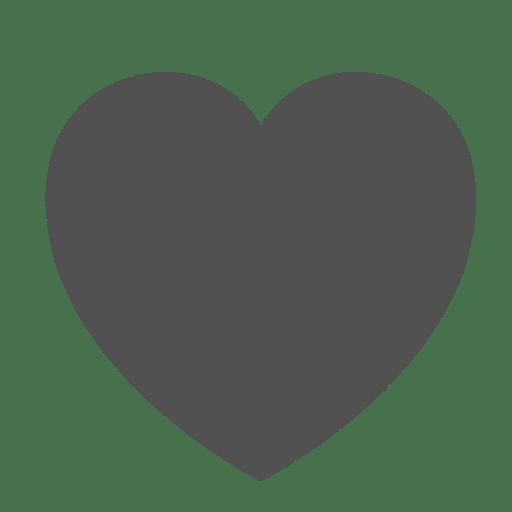 Icon Gray Instagram Heart