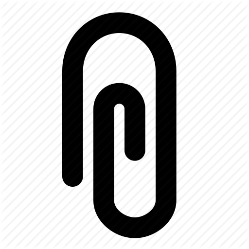 Email Attachment Image Free Icon