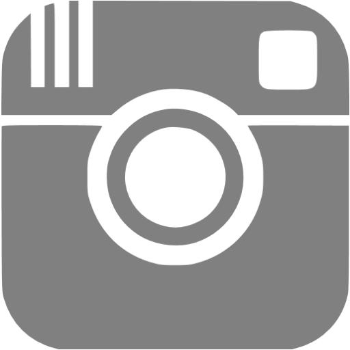 Instagram Icon Black White