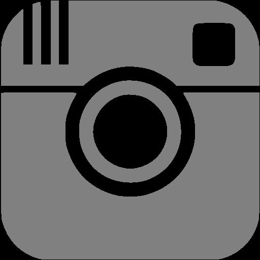 Gray Instagram Icon