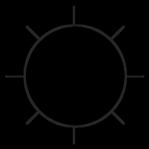 Instagram Settings Line Icon