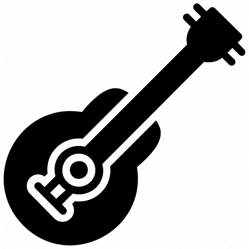 Guitar, Instrument, Music, Music Play, Musical Instrument Icon