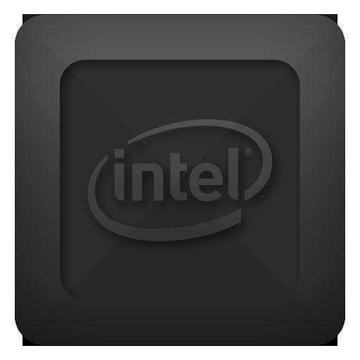 Text, Intel Icon