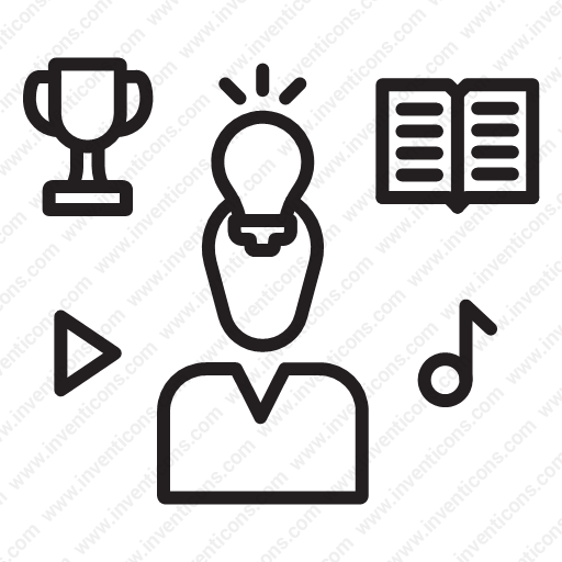 Download Intellectual Property Rights Icon Inventicons