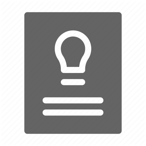 Intellectual, License, Patent, Property Icon
