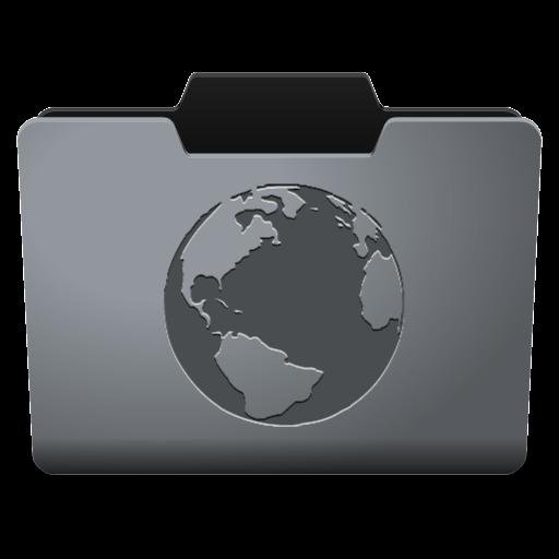 Steel Internet Icon