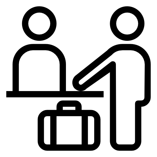 Check In Desk Icon