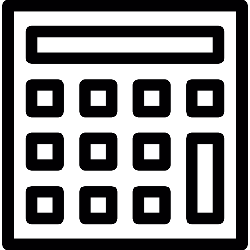 Calculator, Ios Interface Symbol Icons Free Download
