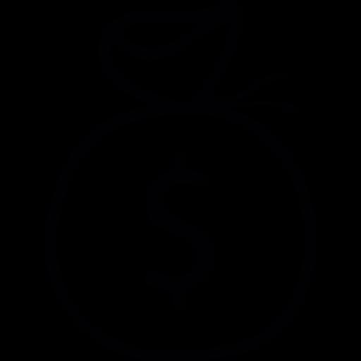 Dollar Bag, Ios Interface Symbol Icons Free Download
