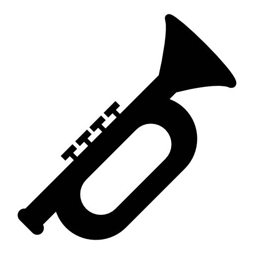 Trumpet, Musical Instrument, Ios Symbol Free Icon Jazz
