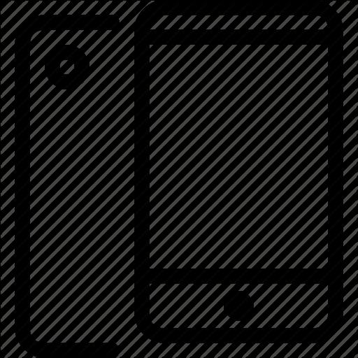 Apple, Iphone, Iphone Mobile, Phone, Smartphone Icon