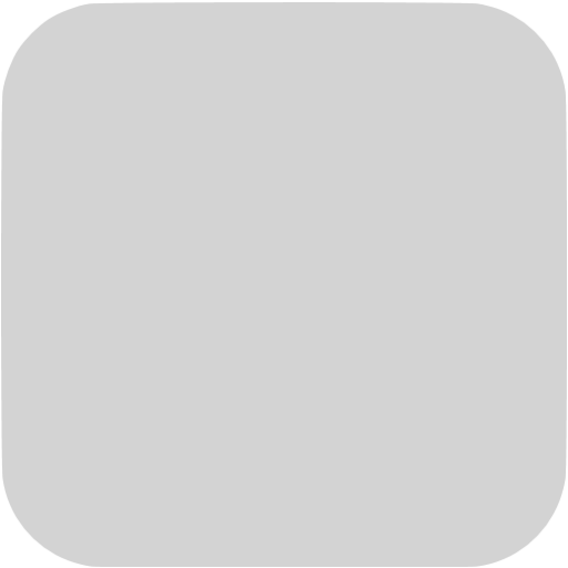 Light Gray Square Ios App Icon