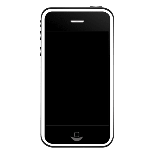 Iphone Template With Camera