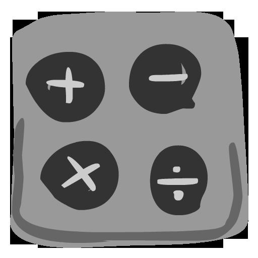 Calculator Icon Hand Drawn Iphone Iconset Fast Icon Design