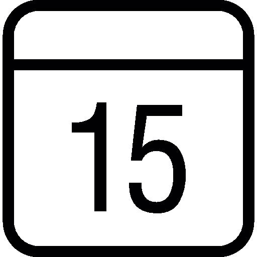 Calendar, Ios Interface Symbol Icons Free Download