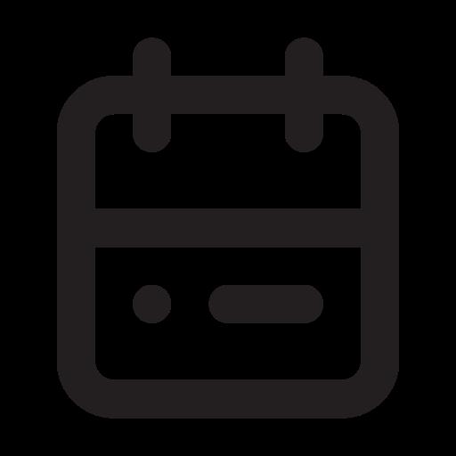 Calendar, Outline Icon Free Of Eva Outline Icons