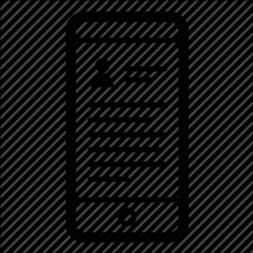 Bio, Detail, Info, Ios, Mobile, Profile Icon