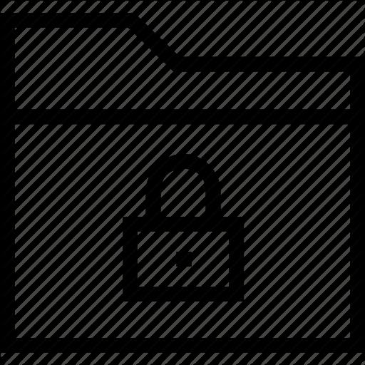 Block, Folder, Group, Lock Icon, Locked, Secure, Security Icon