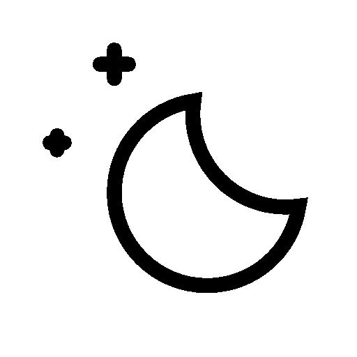 Weather Moon Icon Ios Iconset
