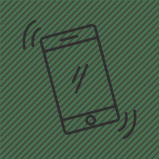 Ringing Phone Icon