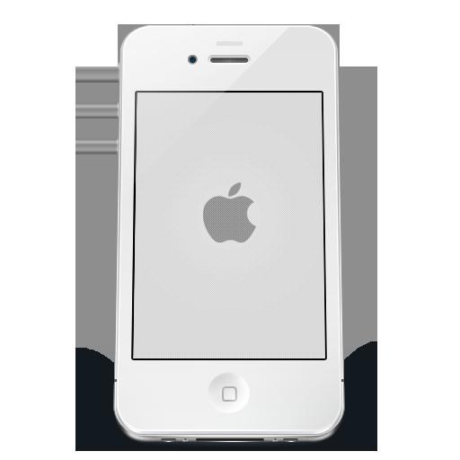 Iphone White Apple Icon Iphone Iconset