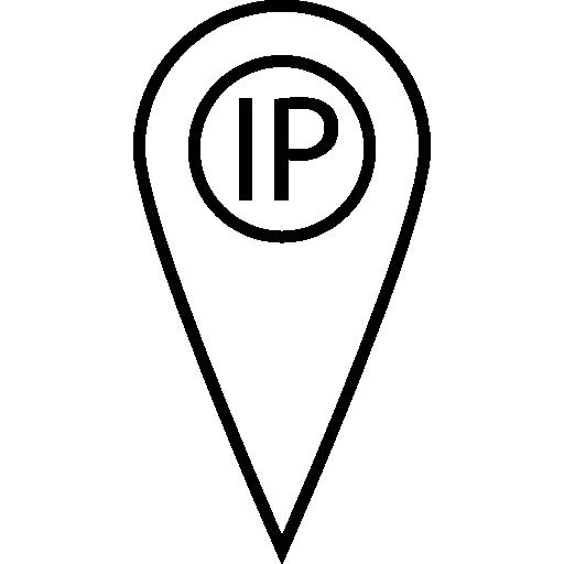 Ip Address Point Locator Icons Free Download