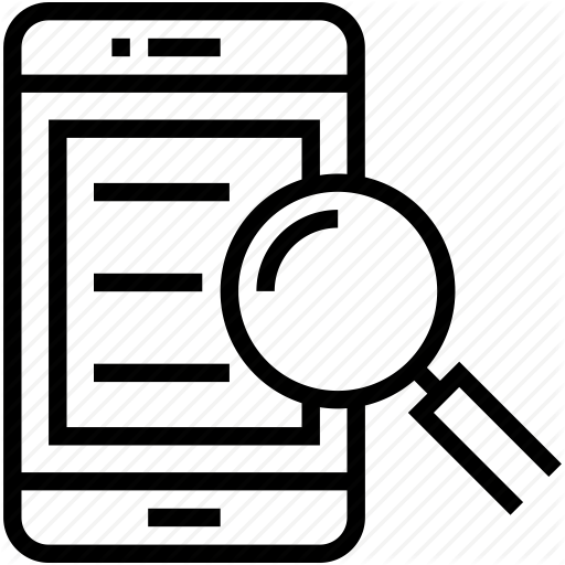 Search Icon Ipad