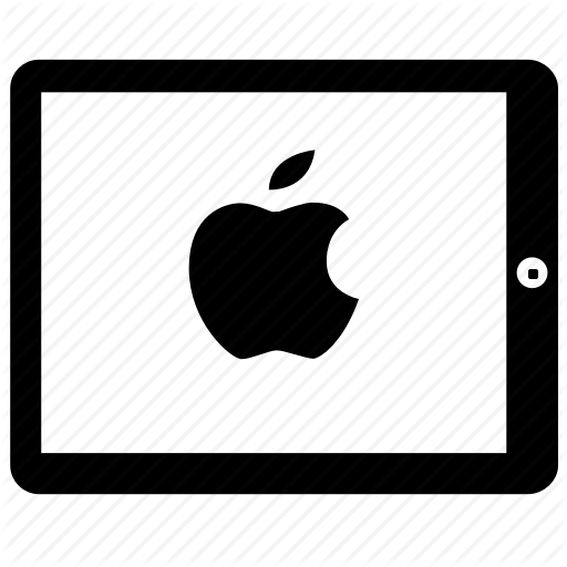 Apple, Ipad Icon