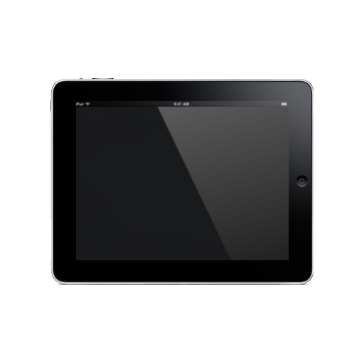Ipad Icon Black Free Icons Download