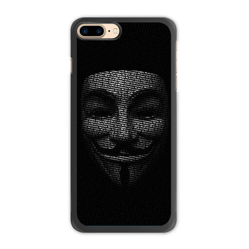 Anonymous Mask Case For Iphone X Plus Galaxy