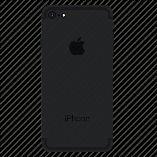 Apple, Back, Matt, Mobile, Plus Icon