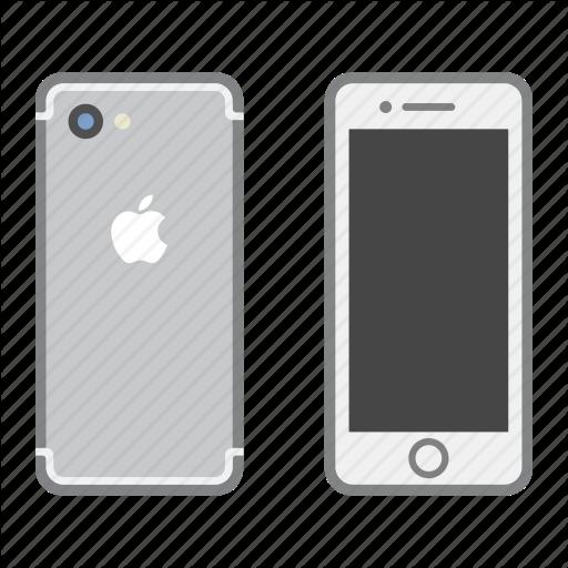 Apple, Iphone, Mobile, Phone, Smartphone Icon