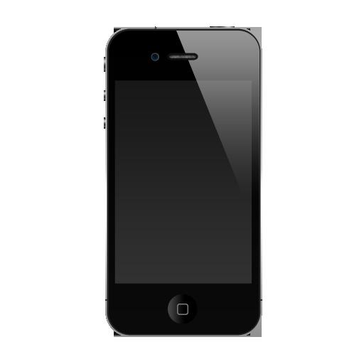 Black Apple Iphone Png Transparent