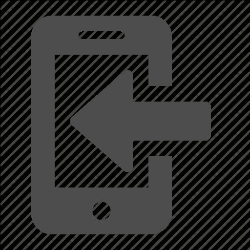 Iphone Arrow Icon
