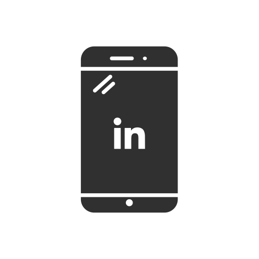 Iphone, Linkedin, Linkedin Logo, Phone Icon