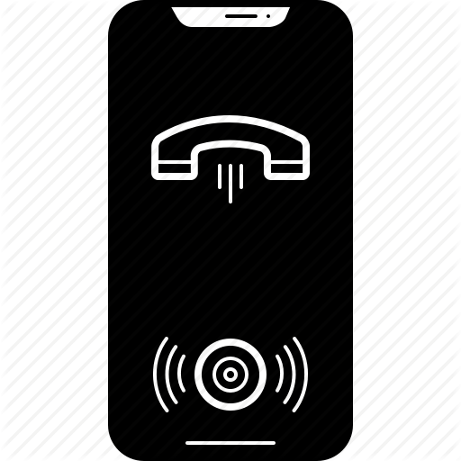 Call, Iphone, On, Speaker Icon