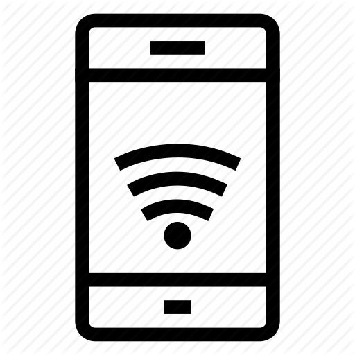 Cell, Device, Iphone, Mobile, Phone, Smartphone, Wifi Icon