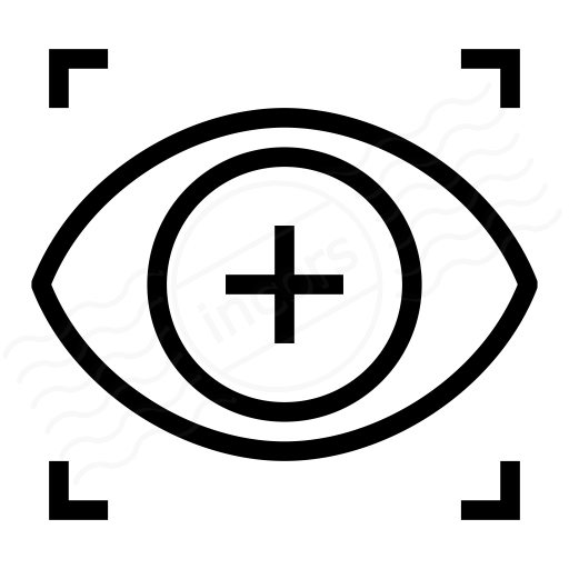Iconexperience I Collection Eye Scan Icon