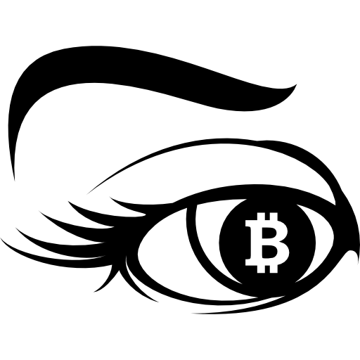 Bitcoin Sign In Eye Iris Icons Free Download