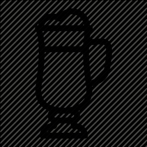 Cafe, Coffee, Cup, Drink, Hot Drink, Irish Coffee, Mug Icon