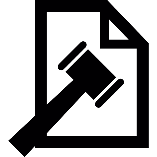 Legal Document Icons Free Download