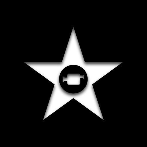 App Imovie Icon Black Icons Softiconscom Logo Image