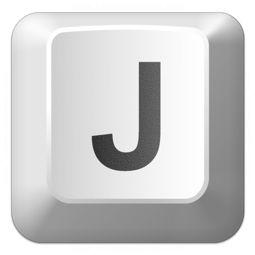 Iconexperience V Collection Keyboard Key J Icon